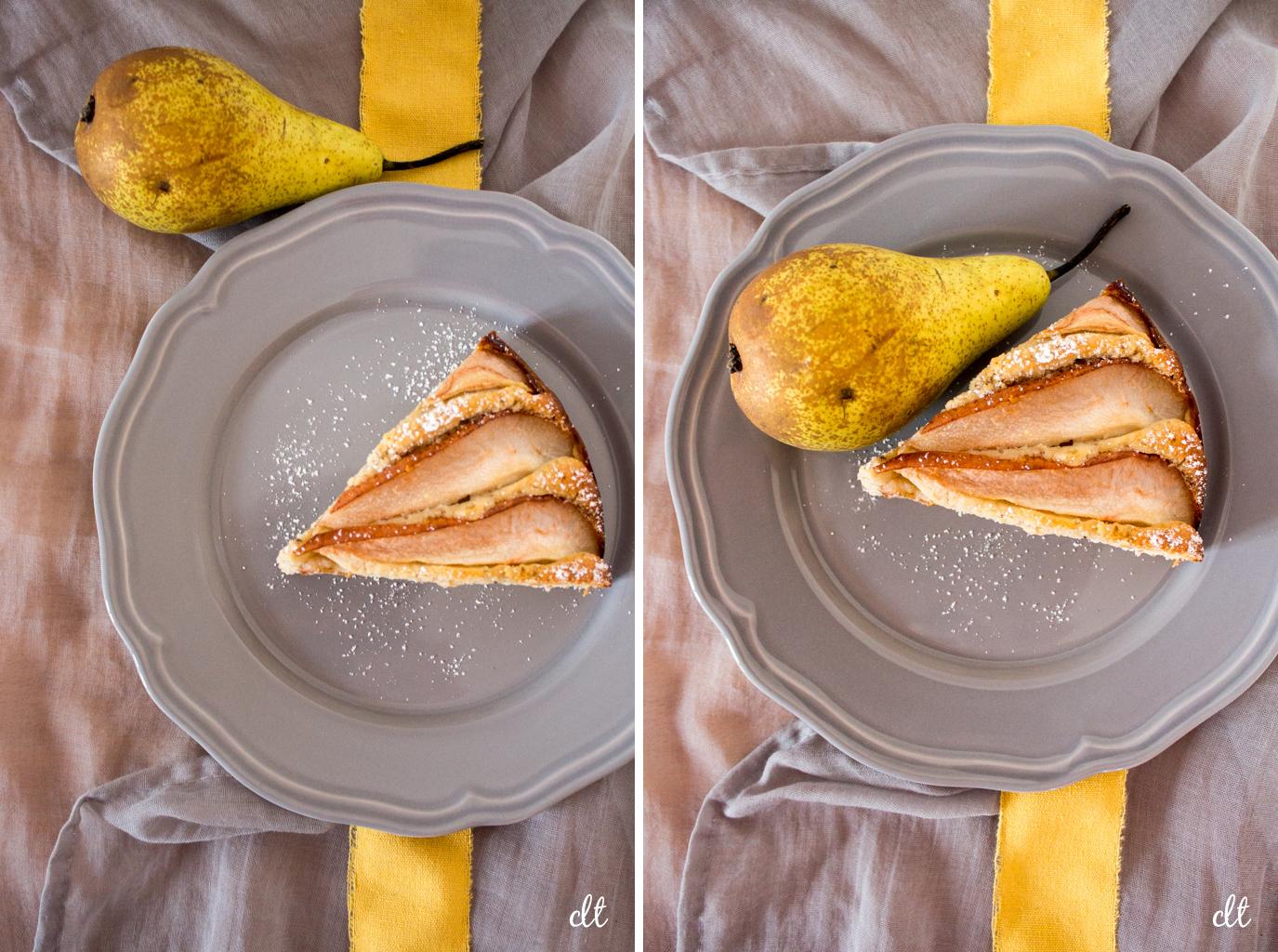 Birne-Chai-Kuchen