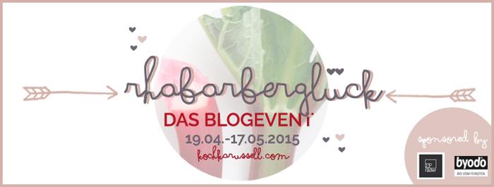 Rhabarberglück - Das Blogevent im Kochkarussel