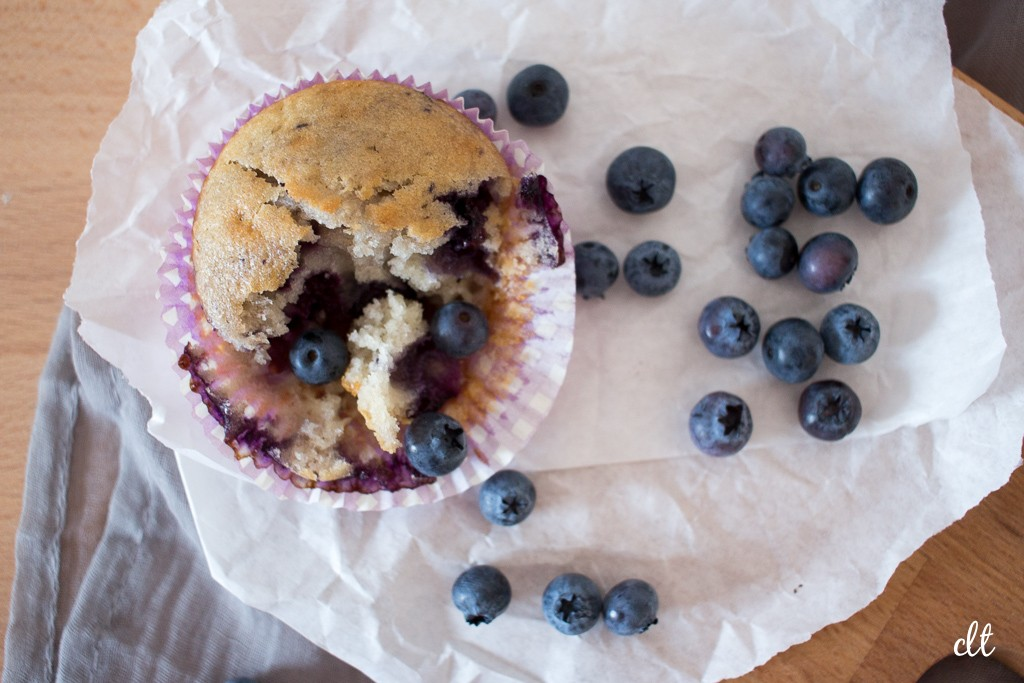 Blaubeer Muffins - jetzt wird genascht!