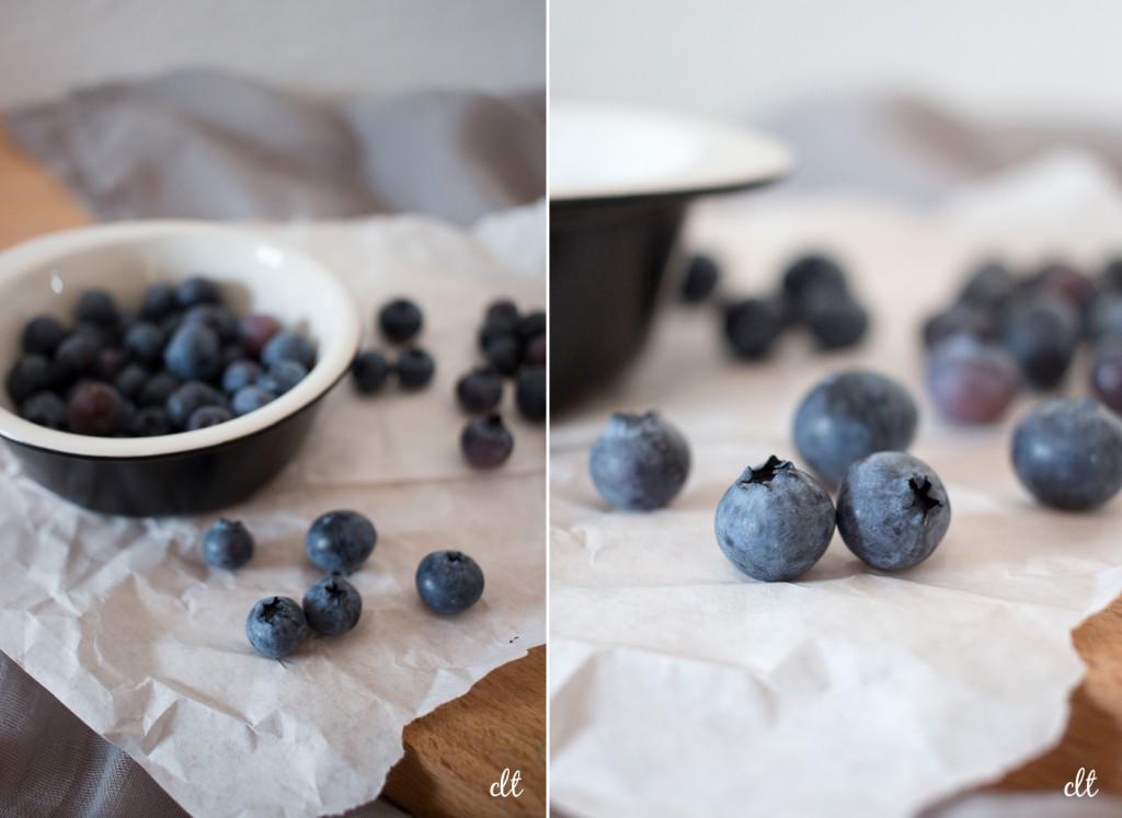 Blaubeer Muffins - die Beeren