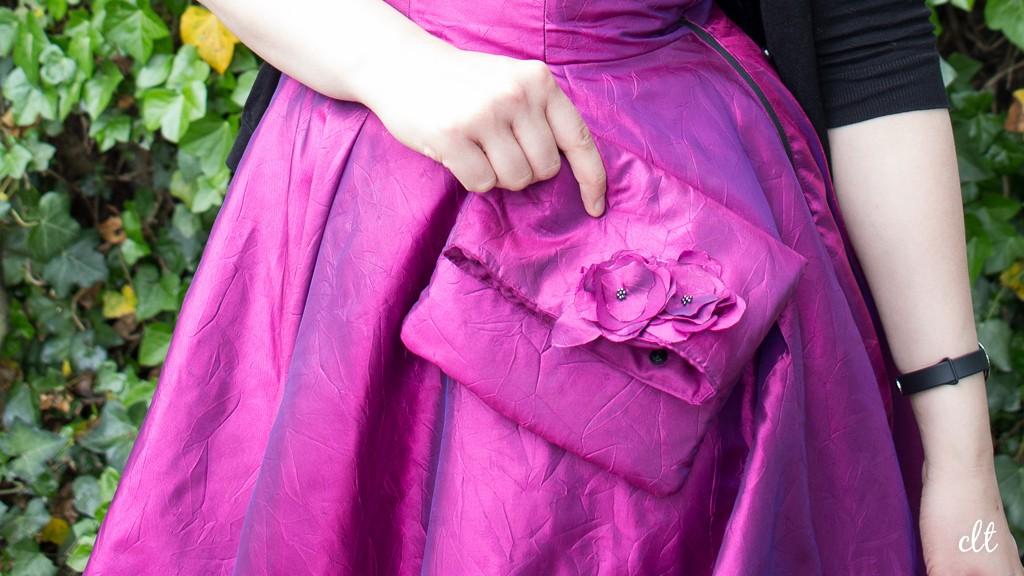 Pretty in Pink - Die passende Tasche darf natürlich nicht fehlen.