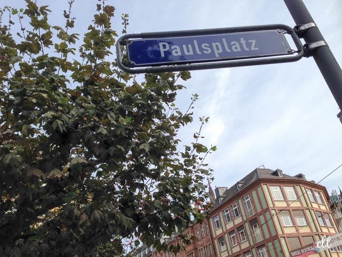 12von12 - Pauslplatz in Frankfurt