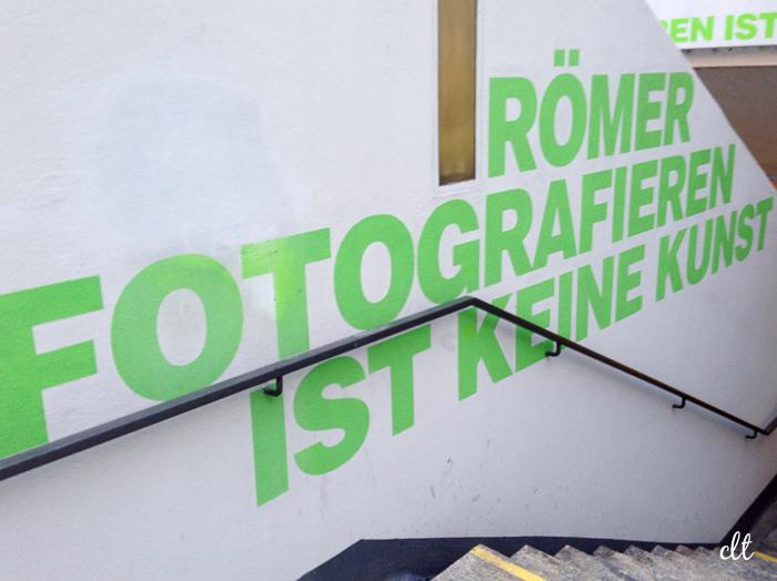 12von12 - Römer fotografieren ist keine Kunst