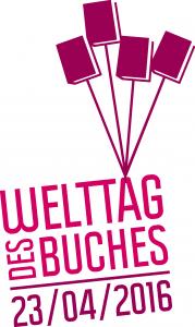 Welttag des Buches 2016 Logo