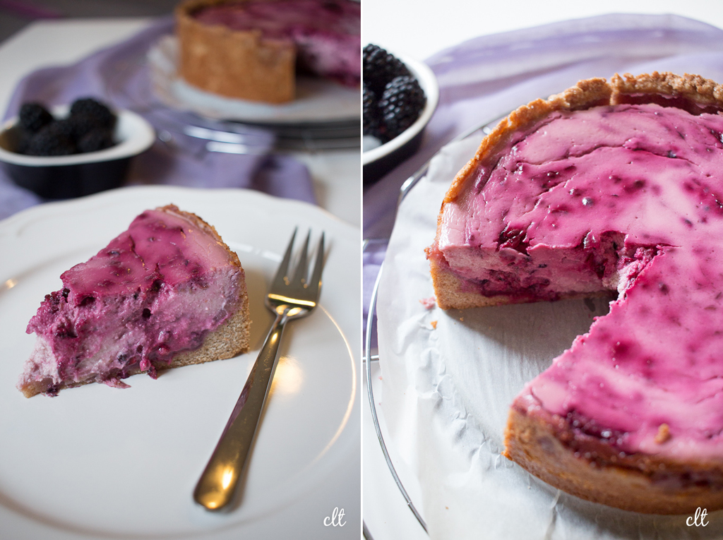 Brommbeer Cheesecake